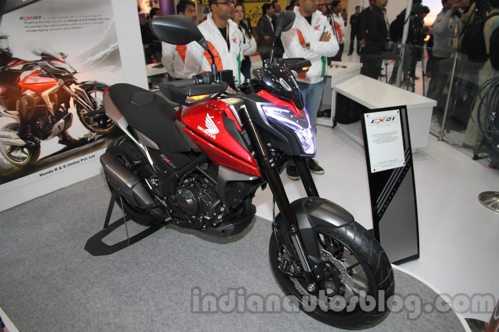 Honda เตรียมจะมี Naked Bike 200cc รุ่นใหม่!! - MOCYC.COM